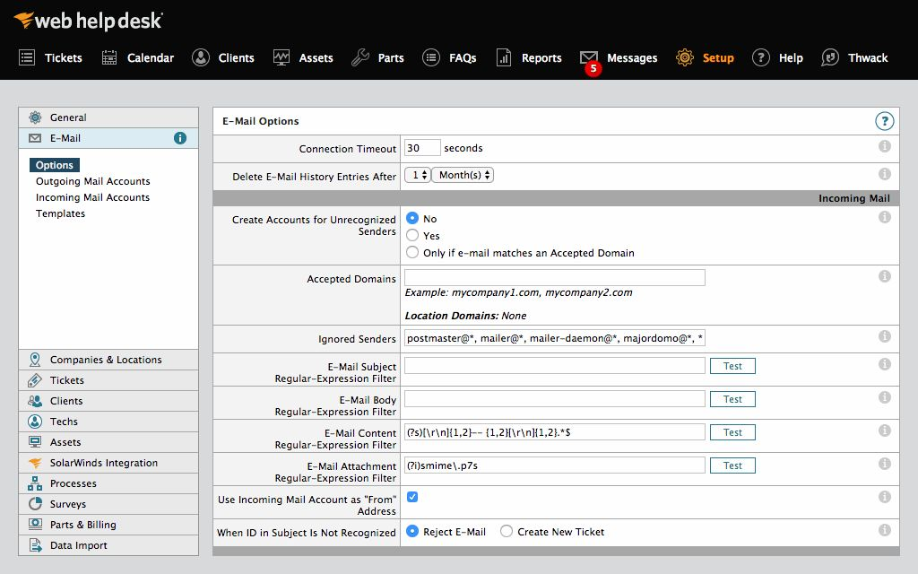 Free Help Desk Software   Ticket & Service   Web Help Desk