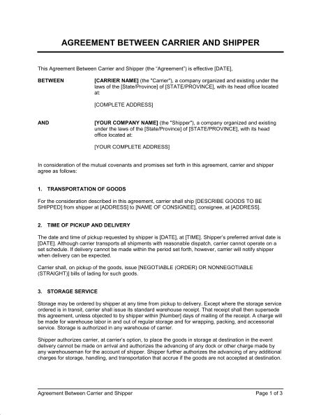 Agreements & Contracts - Download Templates | Biztree.com