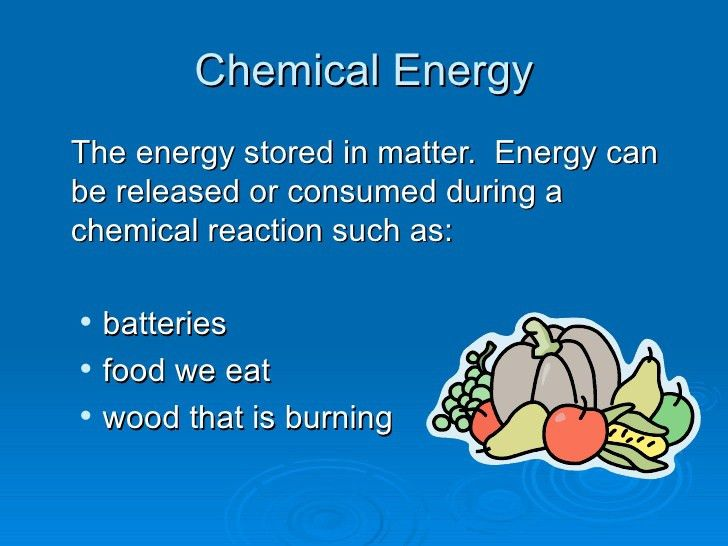 what is chemical energy - Khappe