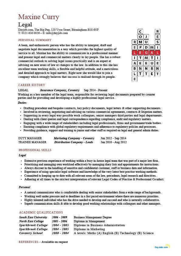 Excellent Inspiration Ideas Legal Resume Template 10 13 Amazing ...