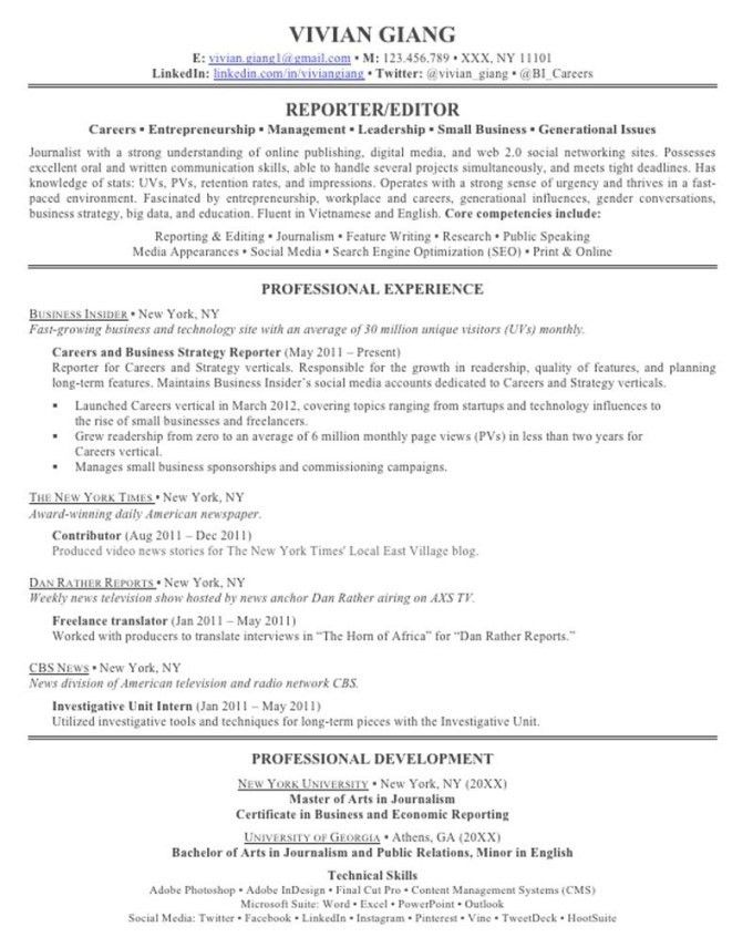 Skill Section Of Resume Example | Resume Examples 2017