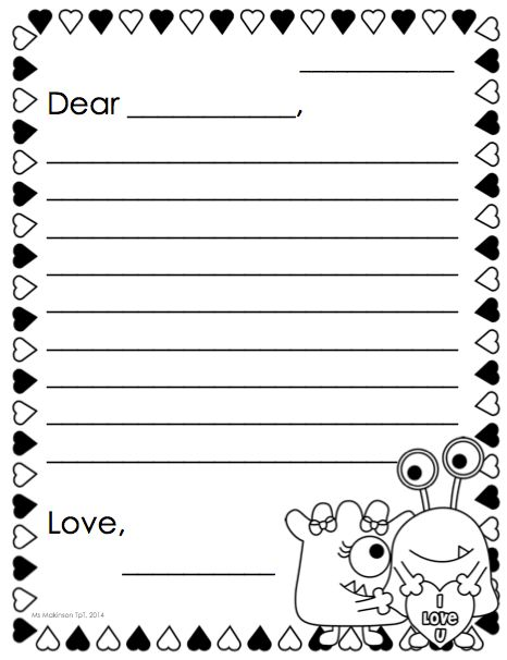 February Printables - Kindergarten Literacy and Math | Friendly ...
