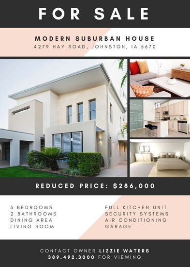 Real Estate Flyer Templates - Canva