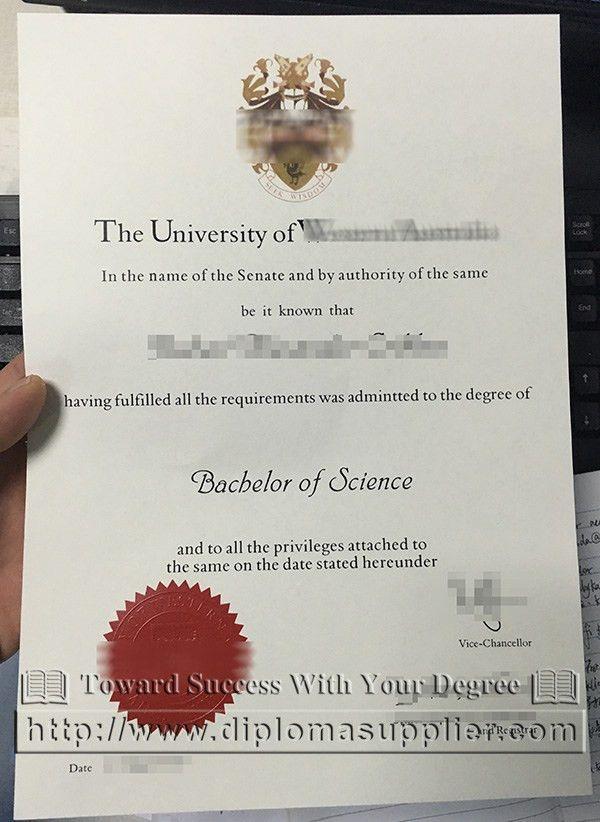 University of Western Australia degree, UWA degree, UWA diploma ...