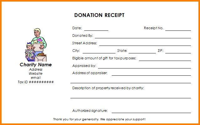 Donation Form Template.Donation Form.gif - Letter Template Word