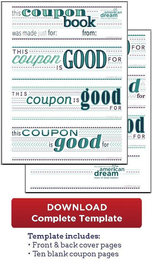Coupon Book Download