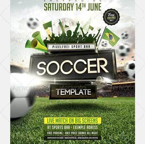Best Soccer Tournament Flyer Design