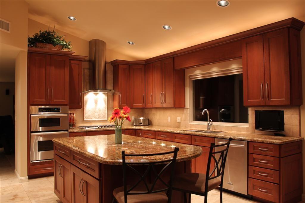 Dark cabinets light granite re what color granite with for Granite colors for black cabinets