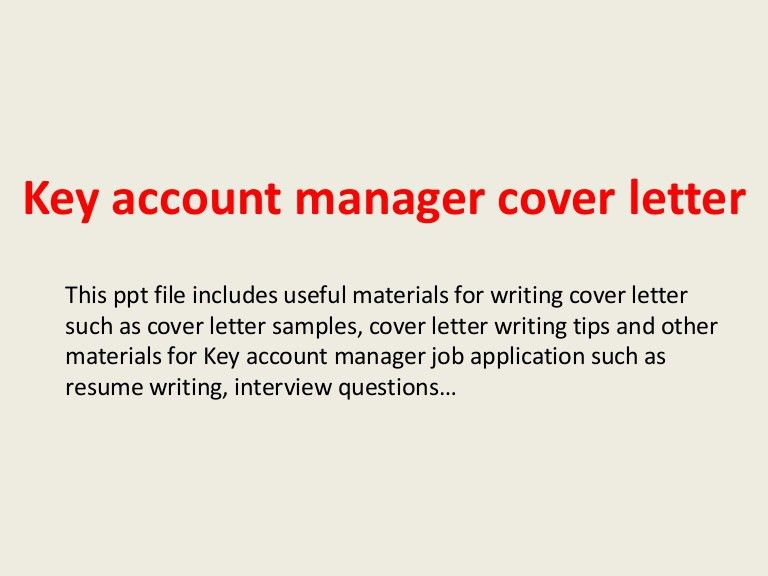 cover letter account executive