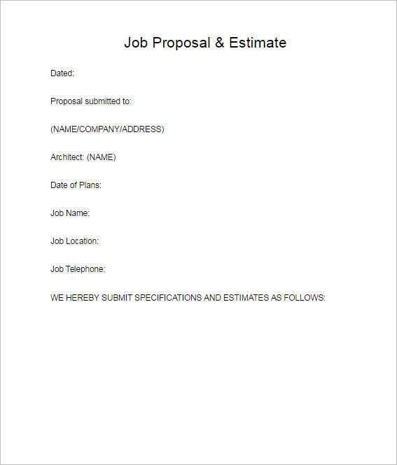 128+ Business Proposal Template - Word, Sample, PDF, Format ...