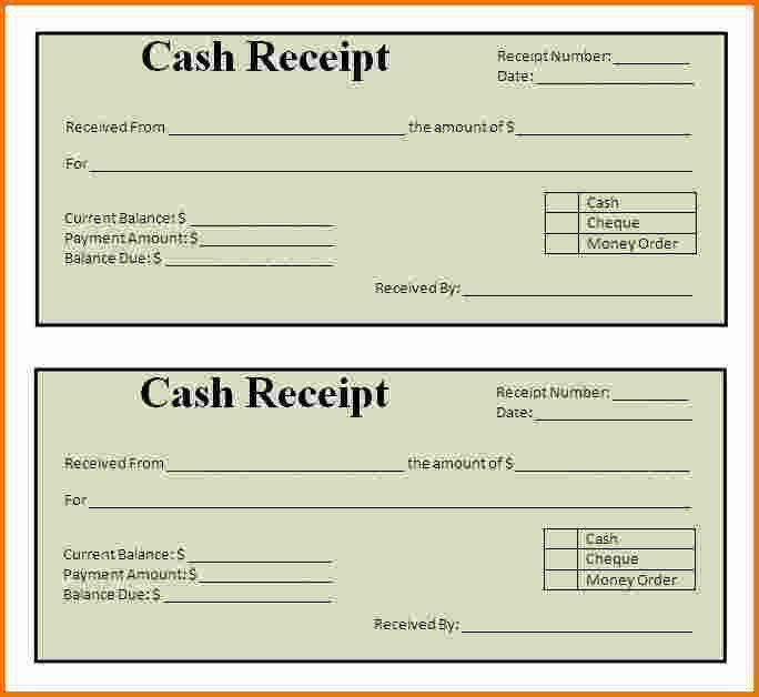 6+ how to make receipts | Expense Report