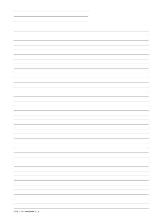 Lined Paper Pad for your Day Planner