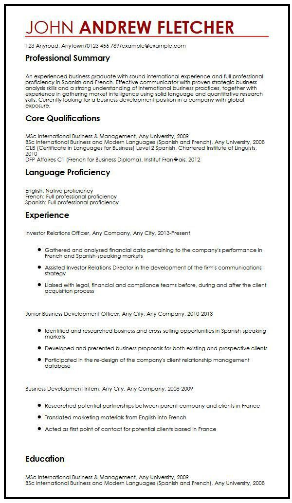 language skills resume sample innewsco resume example. more sample ...