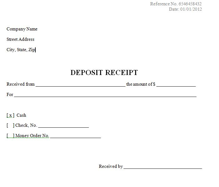 How to Create a Sales Receipt for Initial Deposit? - Business ...