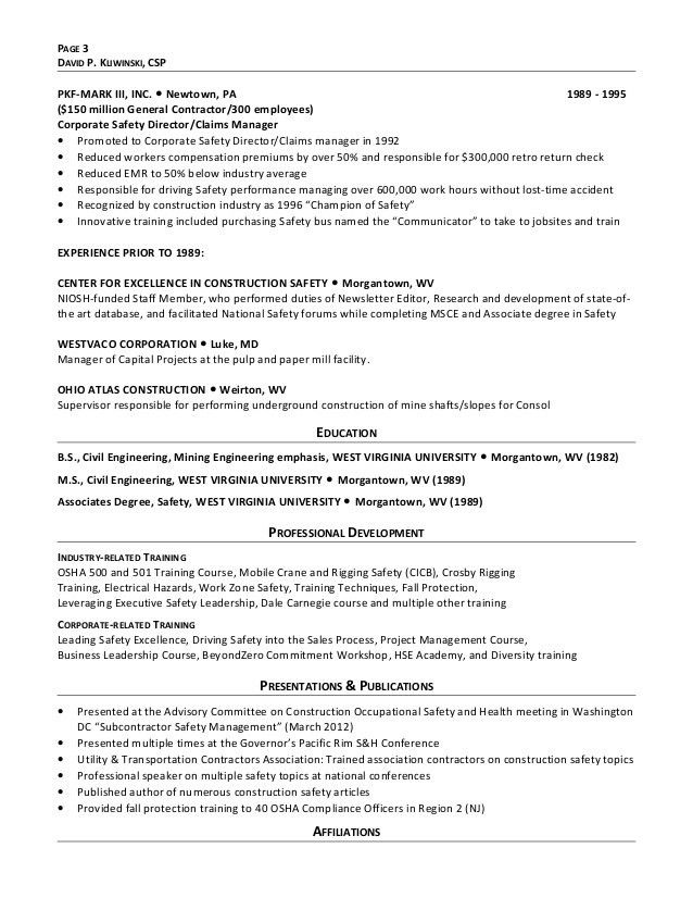 Resume Kliwinski, FINAL FINAL - Copy