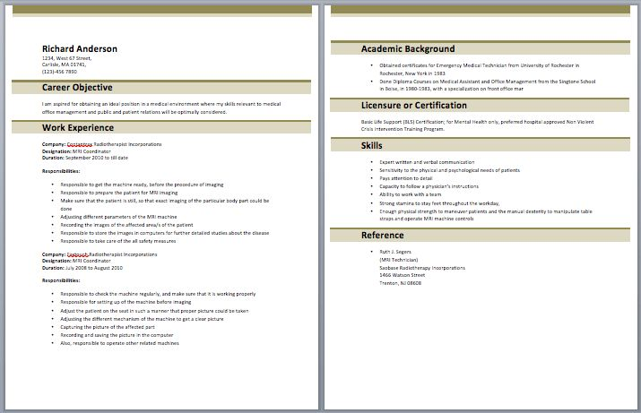 Advertising Coordinator Resume – Best Resume Examples