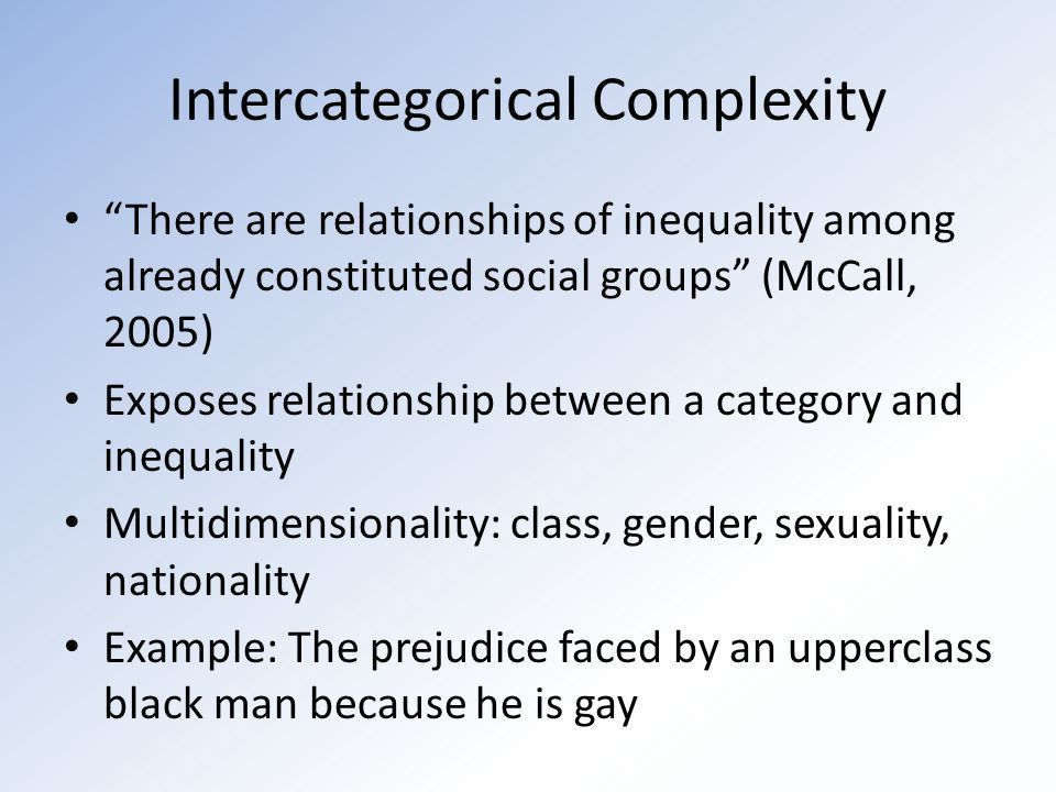 Intersectionality: What It Is And Why It Matters By: Mikaela ...