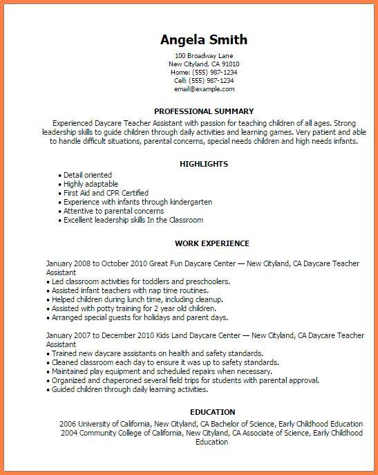 9+ assistant resume professional educator resume | Professional ...