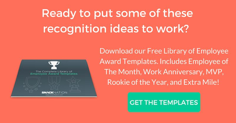 33 Thoughtful Employee Recognition & Appreciation Ideas for 2017