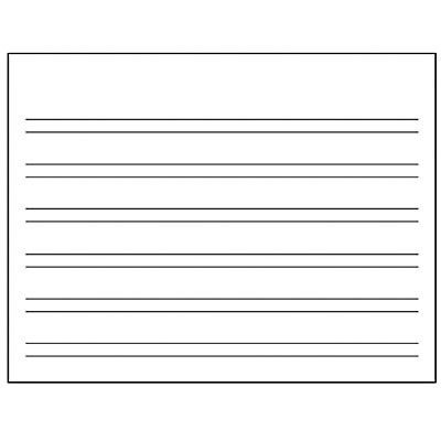 HWT Double Line Paper * - Handwriting Without Tears