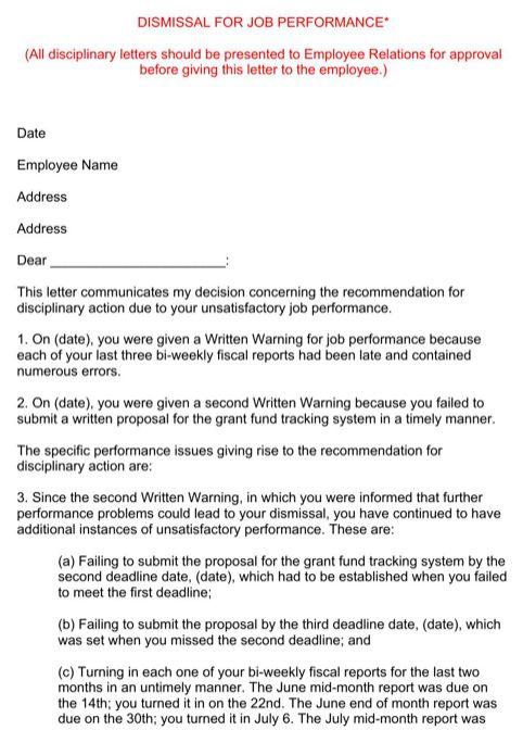 termination letter for insubordination thumb. printable sample ...
