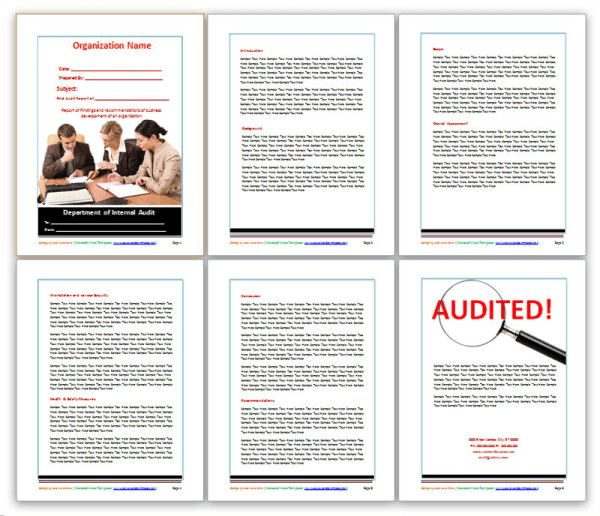 Report Templates Archives - Save Word Templates