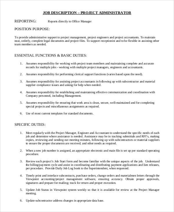 job description for landscape project manager professional job ...