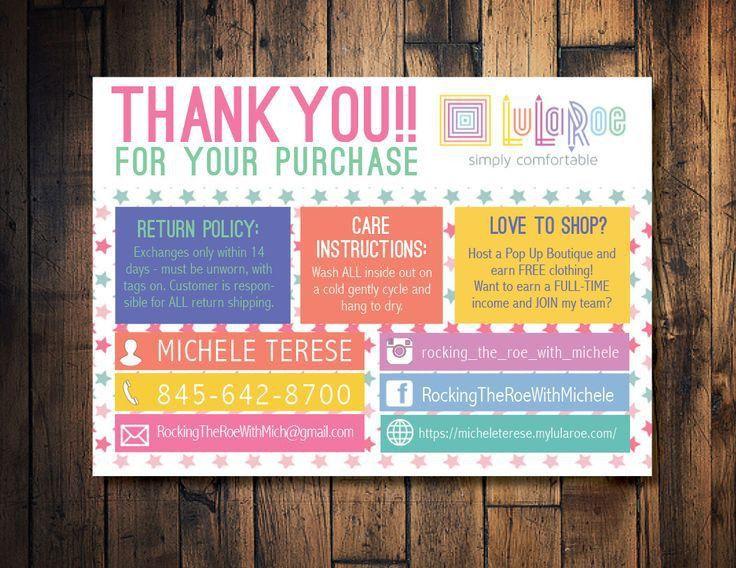 Top 25+ best Lularoe business cards ideas on Pinterest | Lularoe ...