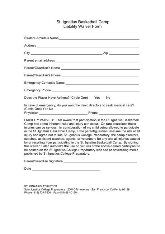 85 Liability Waiver Form Templates free to download in PDF, Word ...