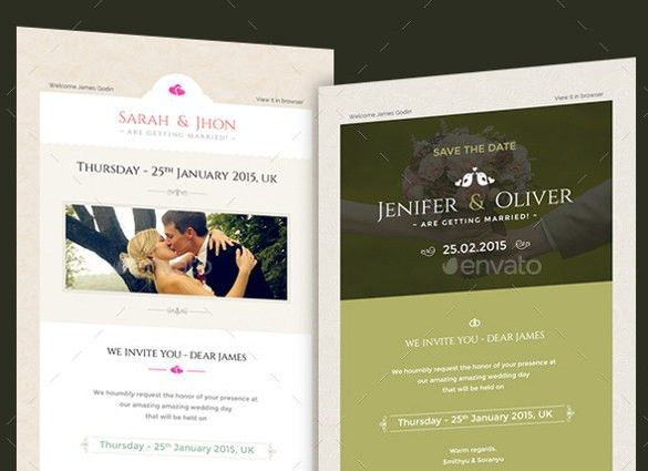 12+ Exceptional Email Invitation Templates – Free Sample, Example ...