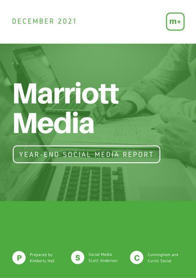 Green White Simple Modern Social Media Report - Templates by Canva
