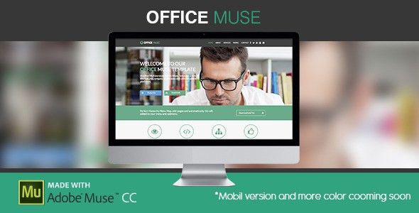 Office Muse | Adobe Muse Template by zacomic | ThemeForest