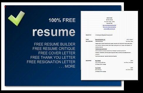 Free Resume Software Windows 8. business management resume ...