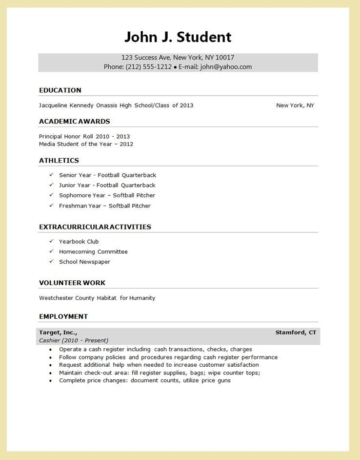 Examples Of Graduate School Resumes. Grad School Resume Sample For ...