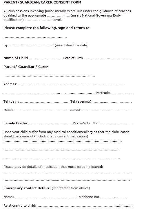 10 Free Sample Travel Consent Form – Printable Samples