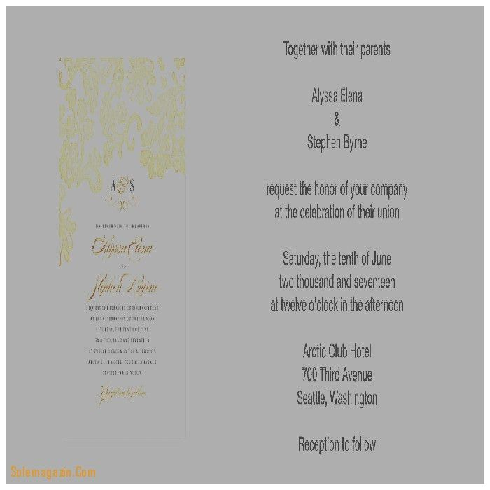 Wedding Invitation: New Wedding Invitation Wording Samples ...