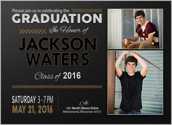 15+ Graduation Invitation Templates - Invitation Templates | Free ...