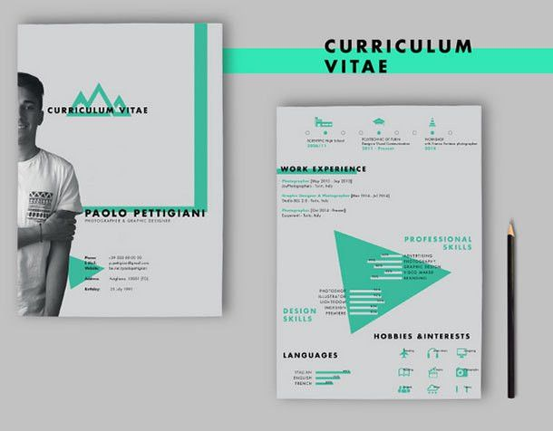 10 Best Free Resume (CV) Design Templates in Ai & Mockup PSD ...