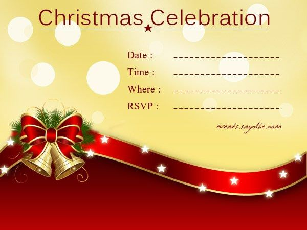 Outstanding Invitation Cards For Christmas Party 64 About Remodel ...