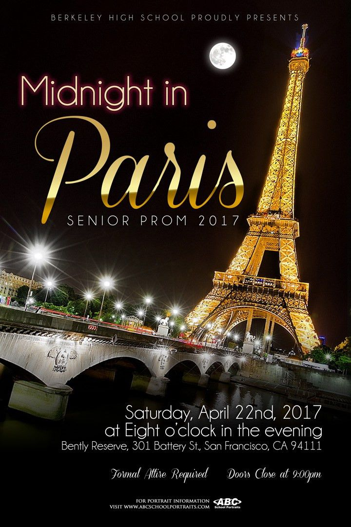 PROM 2017 tickets on sale now – Berkeley High ASB Leadership