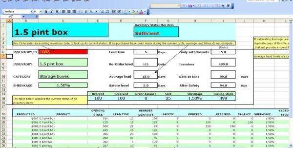 Office Inventory Spreadsheet | Resumesample.csat.co