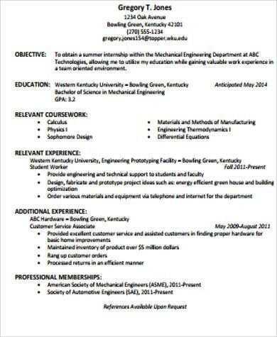 resume objective statement sample httpjobresumesamplecom392resume ...