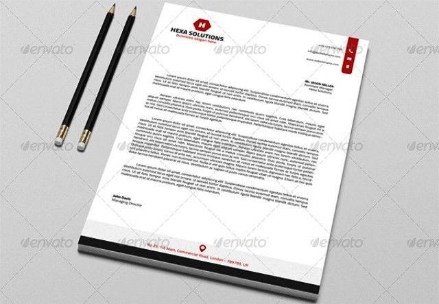 Desain kop surat free download template | nixon | Pinterest