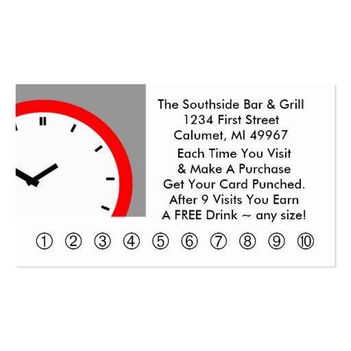 Rewards Business Card Templates - Page2   BizCardStudio