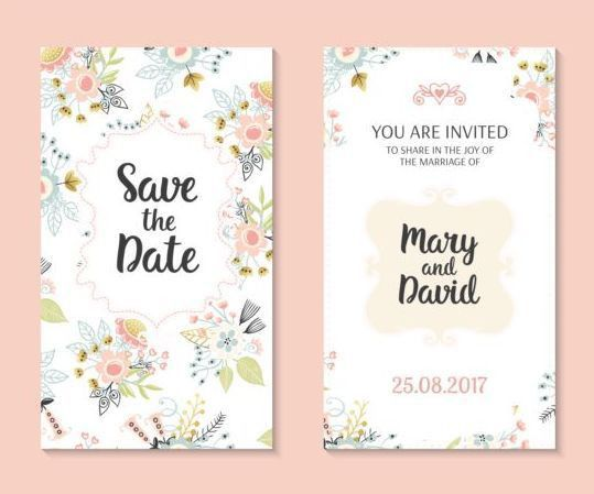 Wedding Invitation Card Template. Wedding Cards. Wedding Ideas And ...
