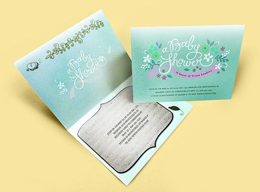 Fascinating Folding Invitation Card Template 43 With Additional ...