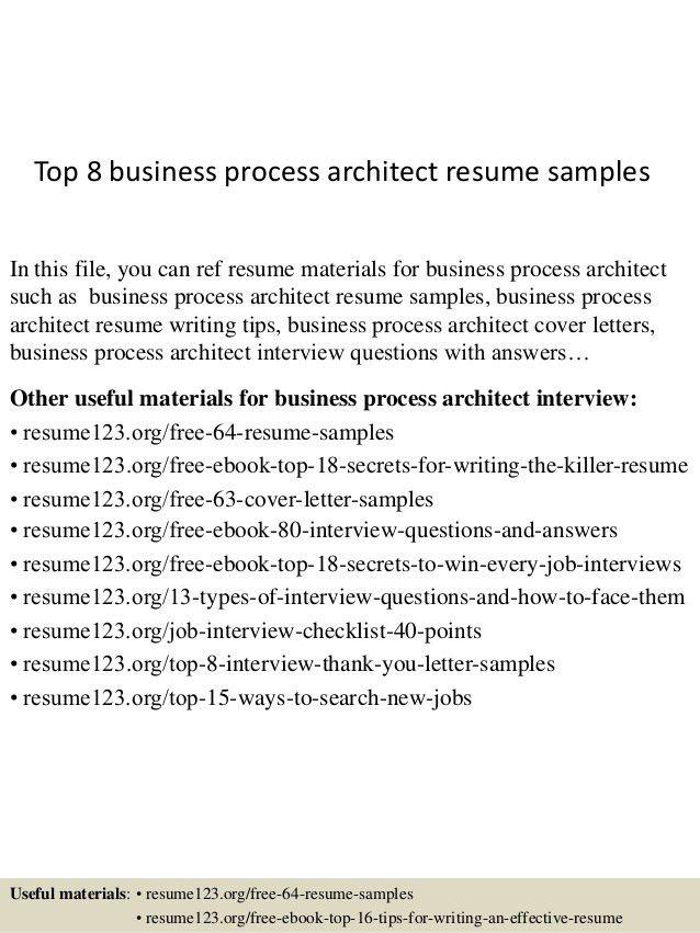 Business Architect Resume] Artlip Senior Enterprise Business .