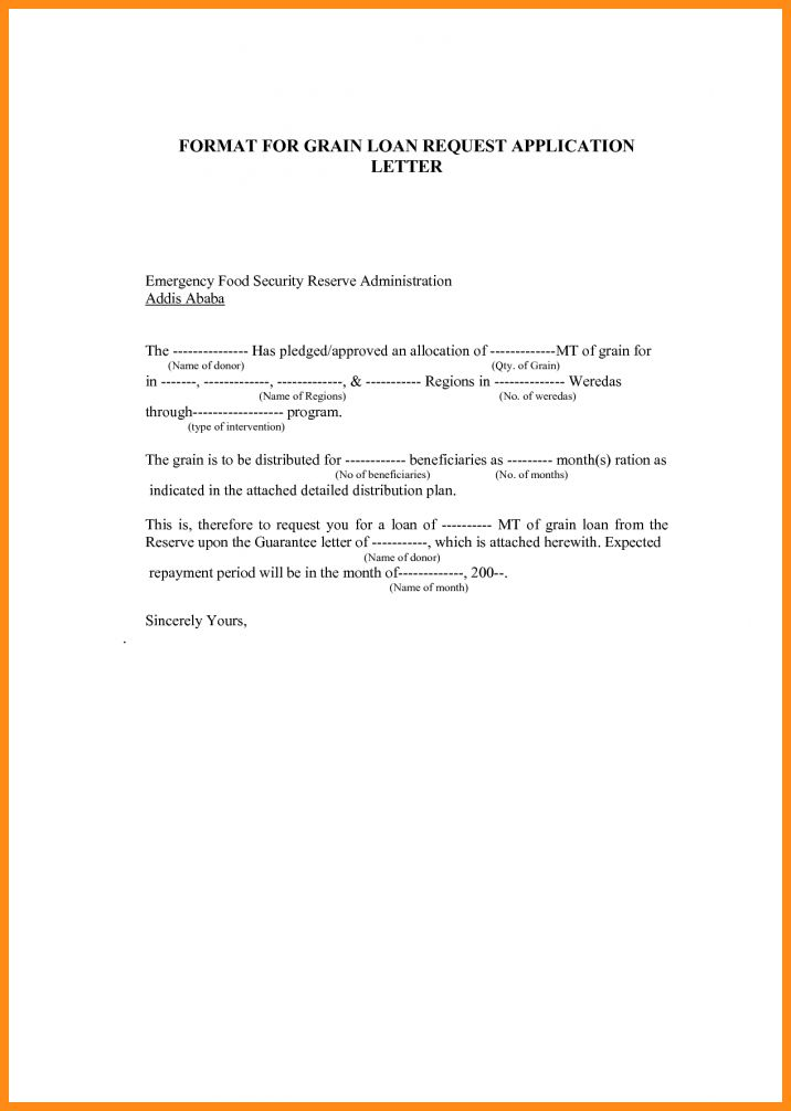 9+ application letter for loan   musicre sumed