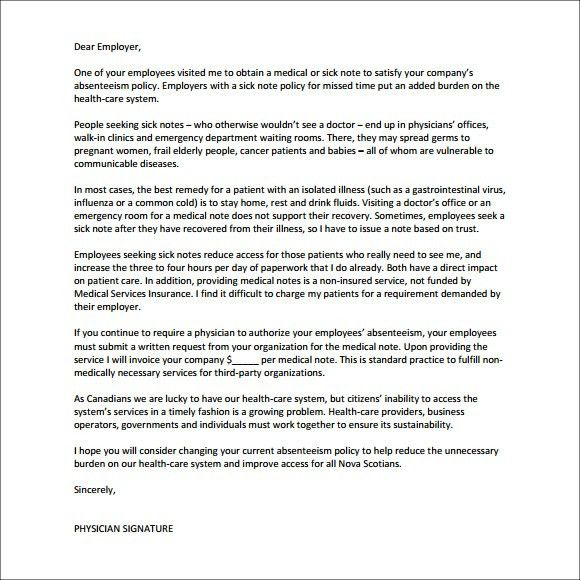 Sample letter leave of absence approval