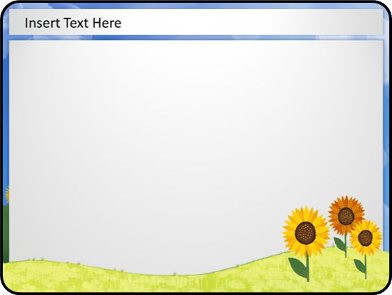 8 Best Images of Spring PowerPoint Templates - Free Spring ...